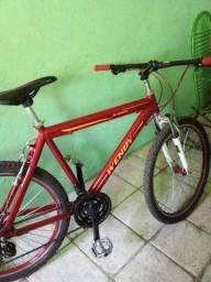 Título do anúncio: Bicicleta aro 26.quadro aluminio.guidon da aro29.cambios shimano