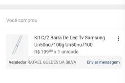 Título do anúncio: 2 Barras de LED para tv Samsung