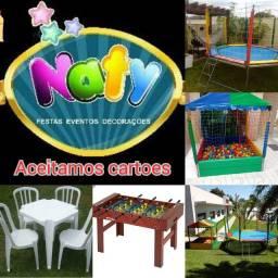 Naty festas e eventos brinquedos para locação