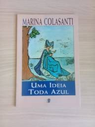 Título do anúncio: Uma Ideia Toda Azul (Marina Colasanti)