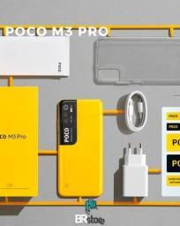 Título do anúncio: Celular Xiaomi Poco M3 Pro 64gb (ac.cartão)