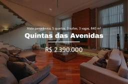 Título do anúncio: Casa a venda com 840 m² com 5 quartos em Quintas das Avenidas - Aceita Imóveis e Automovei