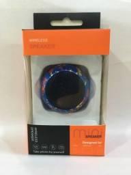 Caixa de som bluetooth , Mini speaker de metal Amplificado
