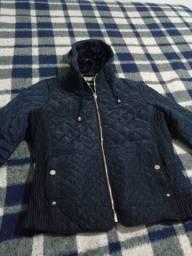 Jaqueta azul marinho