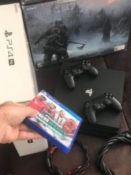 Título do anúncio: Ps4 PlayStation 4 PRO 2 Controles  ACC CARTÃO 12X