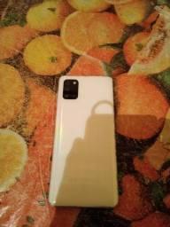 Troco samsung a31 wite raimbow 128/4 por iphone ou xiaomi
