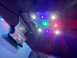 Título do anúncio: Luminaria Aquario Hitech C/ Leds Cree + Dissipador + Cooler
