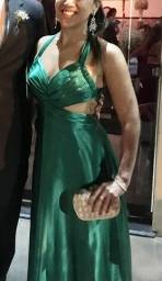 Título do anúncio: Vestido longo festa verde