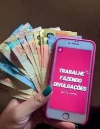 Quer ganhar dinheiro na internet com seu celular ?