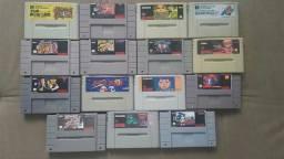 Cartuchos paralelos para Super Nintendo, valor unitário