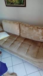 Título do anúncio: Vendo conjunto sofá e 2 poltronas