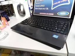 Notebook Samsung | Core i3 | 500GB Hd | 4GB Mem | C/Garantia e Formatado