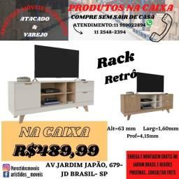 Título do anúncio: Rack na Caixa (MÓVEIS NOVOS)
