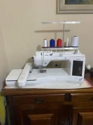 Título do anúncio: Vendo máquina de bordar Brother BP2150 L