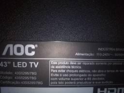 KIT 3 PLACAS TV  aoc 43s5295/78g