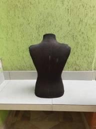 Título do anúncio: Manequim busto em fibra coberto com tecido