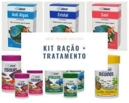 Melhor Compra - Kit Ração Alcon + Tratamento Labcon
