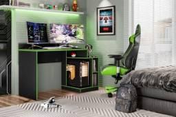 Título do anúncio: Escrivaninha Gamer Play Mesa - Entrega e Montagem Grátis e imediata p/ Fortaleza