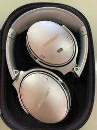 Título do anúncio: Fone de ouvido sem fio Bose QuietComfort 35 II prata, Noise Cancelling