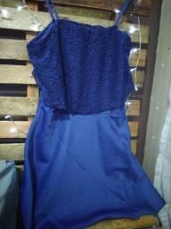 Título do anúncio: Vestido azul