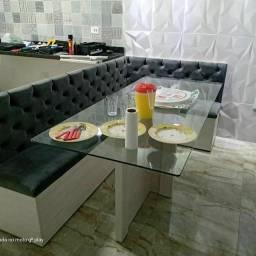 Canto Alemão com mesa