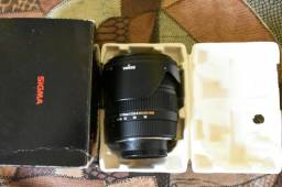Nikon lente sigma 17 70mm 2.8 macro