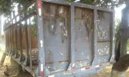 Gaiolão de cana para camião no toco