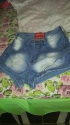 Short jeans cintura alta Vendo Ou faço troca