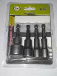 Jogo de soquete 4 peças idea contato zap 87991035507 araripina Pernambuco