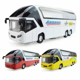 Miniatura ônibus metal
