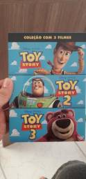 Dvd triologia Toy Story, usado comprar usado  Fortaleza