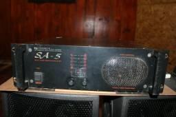 Amplificador de potência Cygnus SA5 1500W RMS