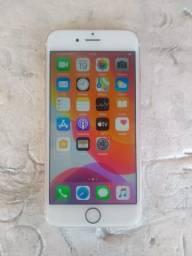 Vendo iphone 6s rose 16gb carregador aceito trocas
