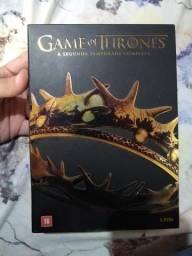 Game of Thrones Segunda temporada DVD