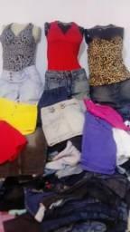 Lote de roupas para brexó.