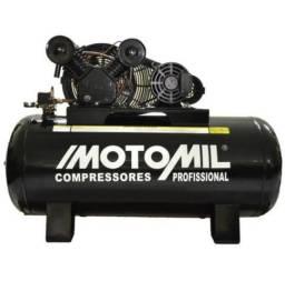 Compressor 30/350 litros Motomil Profissional