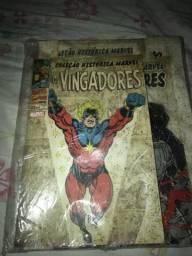 Coleção Histórica Marvel-Os Vingadores