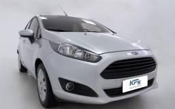 Ford Fiesta 2014 1.5 S Flex 4P Prata Completo - 2014