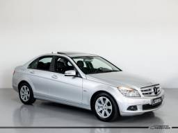 Mercedes C-180 Kompressor Classic 1.6 16V Aut. - Prata - 2010 - 2010