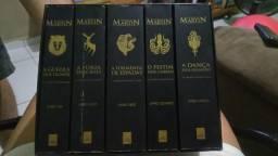 Edição colecionador Game off thrones