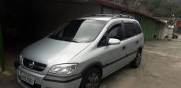 Chevrolet Zafira Expression 2012 automática 7 lugares com GNV - 2012