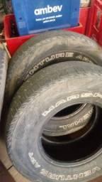 3 pneus 255/70 15