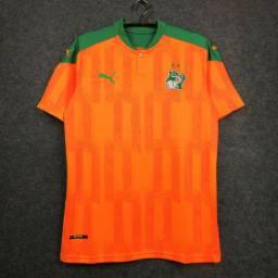 Novo modelo de camiseta Costa do Marfim