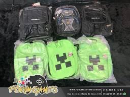 Mochilas Minecraft e Outras Personalizadas na Promoção