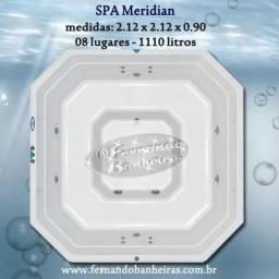 Título do anúncio: Banheiras de Hidromassagem SPA Meridian