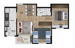 Apartamento à venda com 58m² *aceita permuta em Indaiatuba