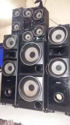 Caixas Som Sony MUTEKI STR KM7600