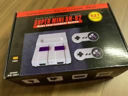 Super Mini Sn-02 * 821 Jogos Instalados 8 Bits Nintendinho