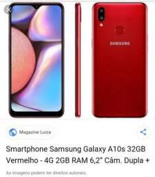 Galaxy A10s novo troco por S9