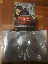 Box 4 DVDs Missão Impossível - Tom Cruise